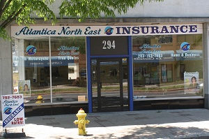 Atlantica Insurance Danbury Storefront